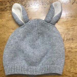 5/$25 Gap Baby knit snow bunny ear hat! 0-6M 🐰 ❄️